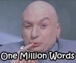 Dr Evil One Million Words 150x125