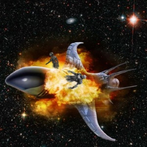 Exploding spaceship by Abinosys 300x300