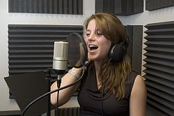 Singer Recording 250x166